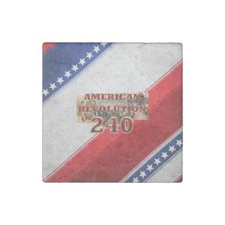 ABH American Revolution 240th Anniversary Stone Magnet