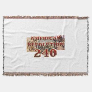ABH American Revolution 240th Anniversary Throw