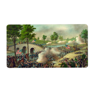 ABH Antietam 150 Personalized Shipping Labels