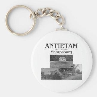 ABH Antietam Basic Round Button Keychain