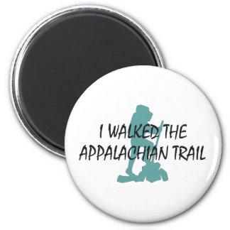 ABH Appalachian Trail Hiker 2 Inch Round Magnet