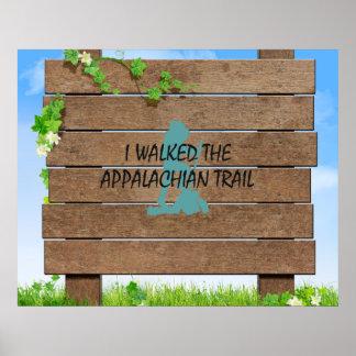 ABH Appalachian Trail Hiker Poster