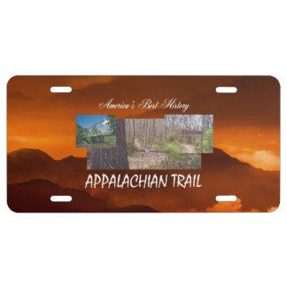 ABH Appalachian Trail License Plate