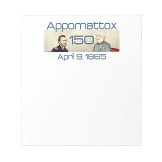 ABH Appomattox 150 Notepad