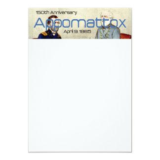 ABH Appomattox 150o Invitación 12,7 X 17,8 Cm