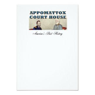 ABH Appomattox 5x7 Paper Invitation Card
