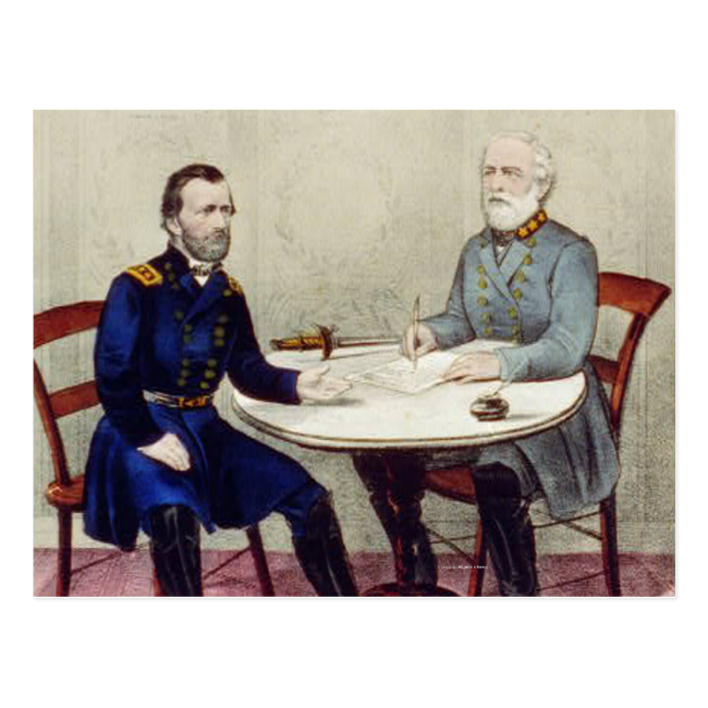 ABH Appomattox Postcard