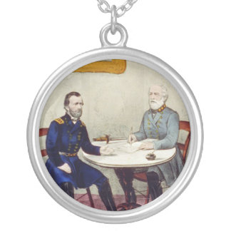 ABH Appomattox Silver Plated Necklace