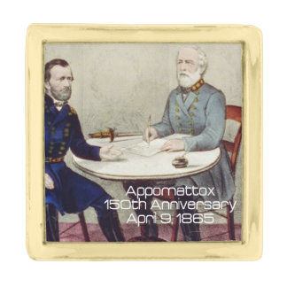 ABH Appomattox Gold Finish Lapel Pin