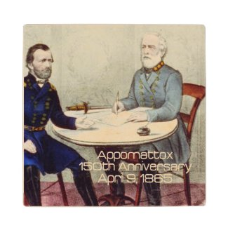 ABH Appomattox Wooden Coaster