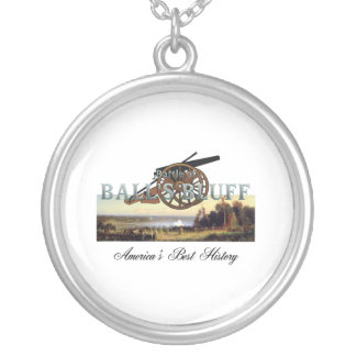 ABH Ball's Bluff Round Pendant Necklace