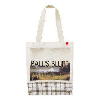 ABH Ball's Bluff Zazzle HEART Tote Bag