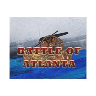 ABH Battle of Atlanta Canvas Print