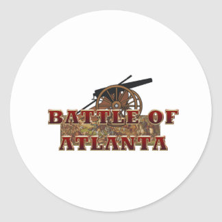 ABH Battle of Atlanta Classic Round Sticker
