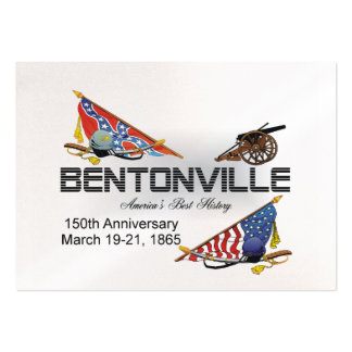ABH Bentonville 150 Tarjetas De Visita Grandes