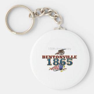 ABH Bentonville Basic Round Button Keychain
