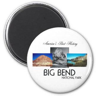 ABH Big Bend 2 Inch Round Magnet