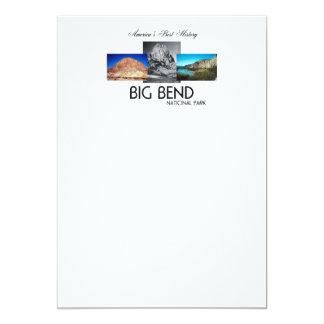 ABH Big Bend 5x7 Paper Invitation Card