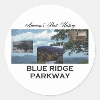 ABH Blue Ridge Classic Round Sticker