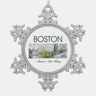 ABH Boston Adorno De Peltre En Forma De Copo De Nieve