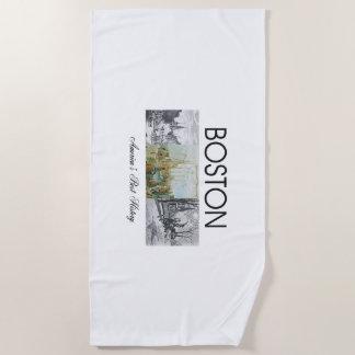ABH Boston Beach Towel