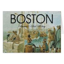 Boston History and Vacation T-Shirts
