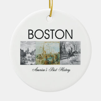 ABH Boston Ceramic Ornament