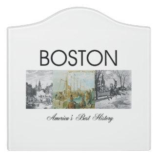 ABH Boston Door Sign