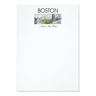 """ABH Boston Invitación 5"""" X 7"""""""