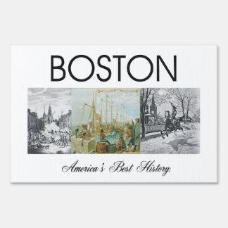 ABH Boston Lawn Sign