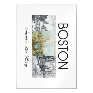 ABH Boston Magnetic Card
