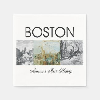 ABH Boston Paper Napkin