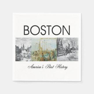 ABH Boston Paper Napkin