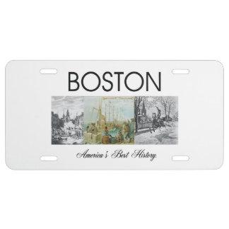 ABH Boston Placa De Matrícula