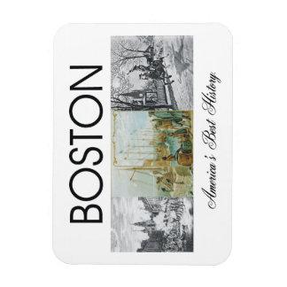 ABH Boston Rectangular Photo Magnet