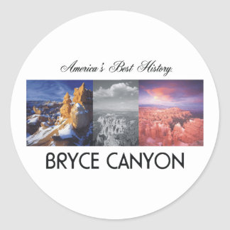 ABH Bryce Canyon Classic Round Sticker