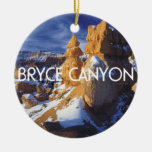 ABH Bryce Canyon Double-Sided Ceramic Round Christmas Ornament