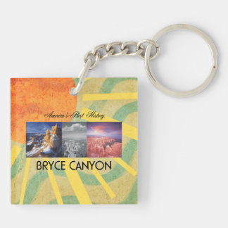 ABH Bryce Canyon Double-Sided Square Acrylic Keychain