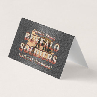 ABH Buffalo Soldiers Business Card