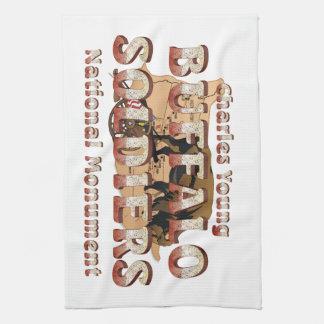 ABH Buffalo Soldiers Hand Towel