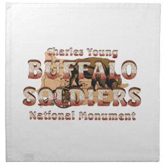 ABH Buffalo Soldiers Printed Napkin