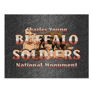 ABH Buffalo Soldiers Postcard