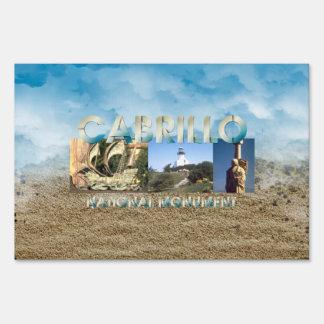 ABH Cabrillo Lawn Sign