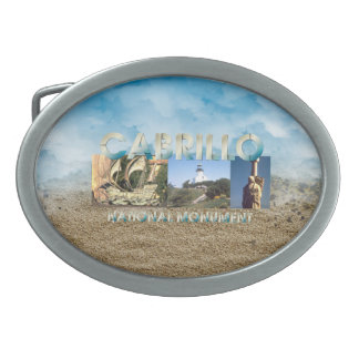 ABH Cabrillo Oval Belt Buckle