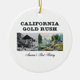 ABH California Gold Rush Ceramic Ornament