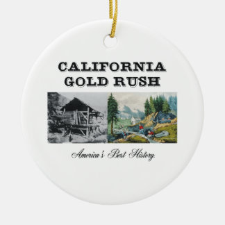 ABH California Gold Rush Christmas Ornaments