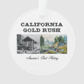ABH California Gold Rush Ornament