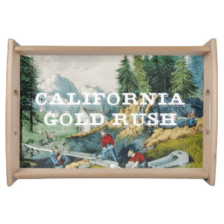 ABH California Gold Rush Serving Tray