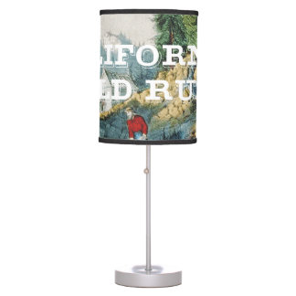 ABH California Gold Rush Table Lamp