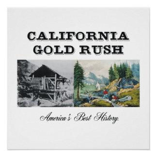 ABH California Gold Rush Perfect Poster